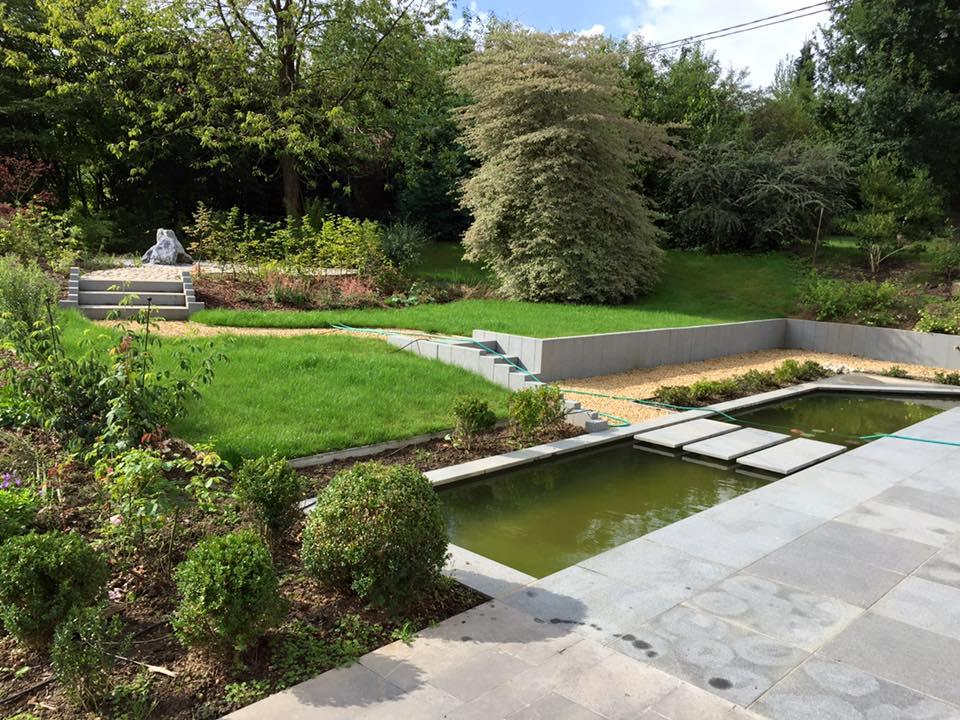 Pr sentation de quelques r alisations de jardins et for Realisation jardin